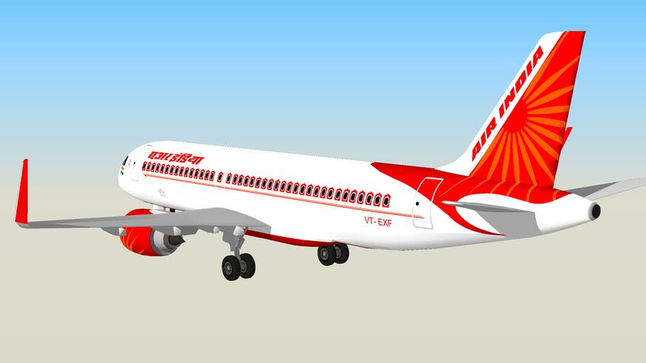 AirIndia Airbus-A320 Neo VT-EXF