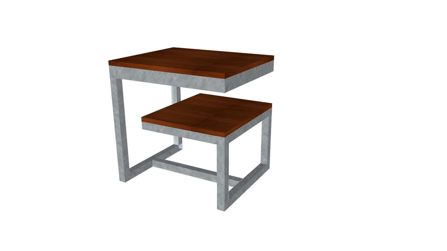Modern End Table ArcWeldist Studio