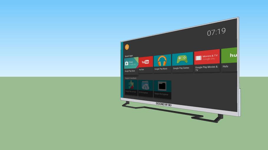 4K LED 55'' INC  TV