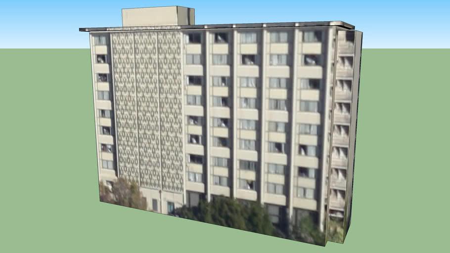 Bâtiment situé Berkeley, Californie, États-Unis