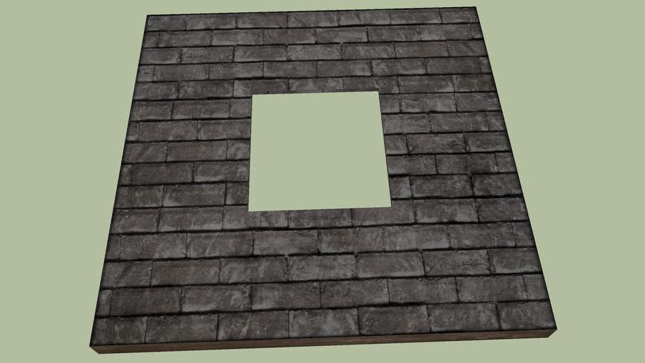 Wurm House Slate Opening Floor Tile