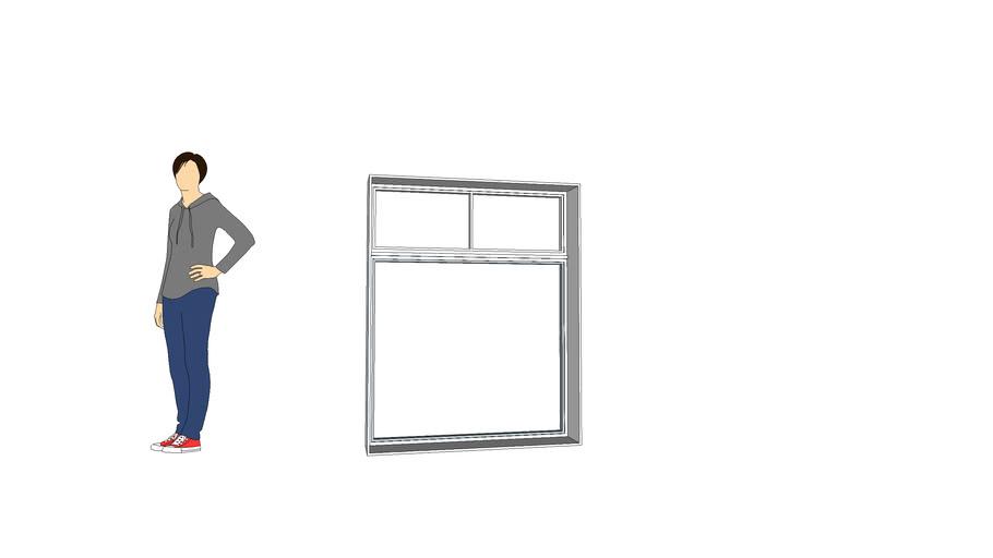 4kstudio 4x5 Split Transom window
