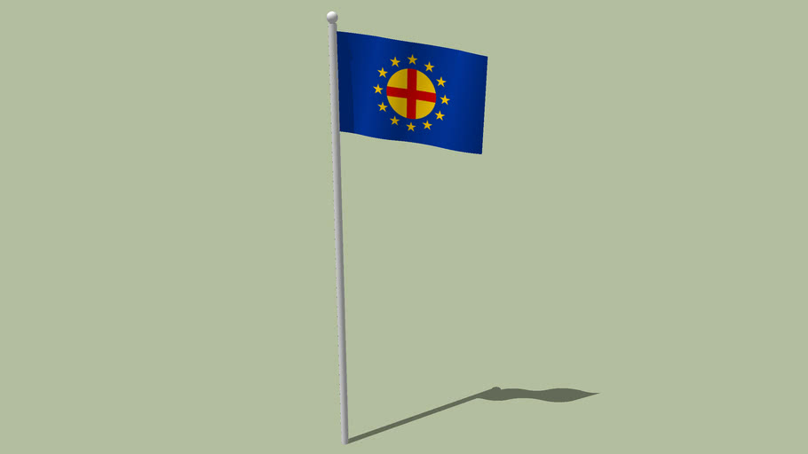 Flag of the Pan-Europa movement