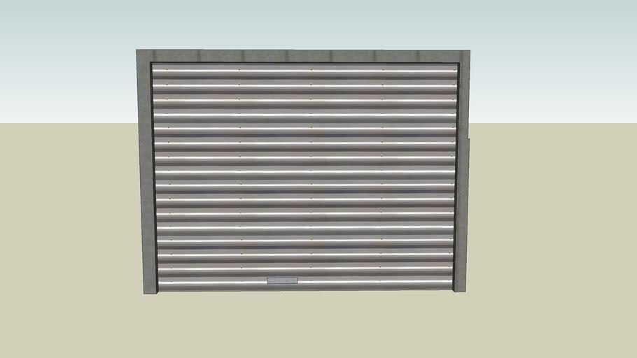 Corrigated Steel Roll Up Door