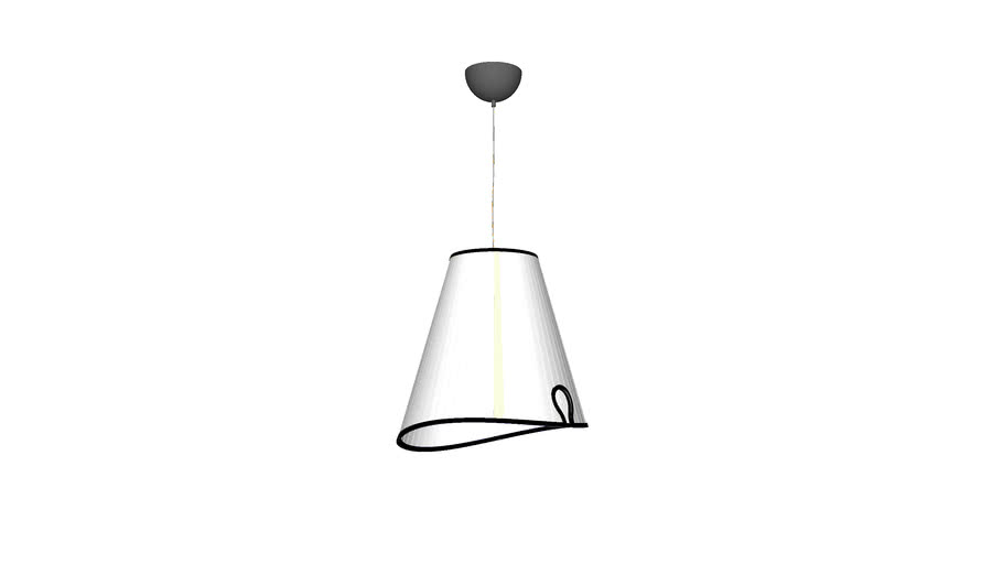 Buenos Aires Plisee Ceiling Lamp