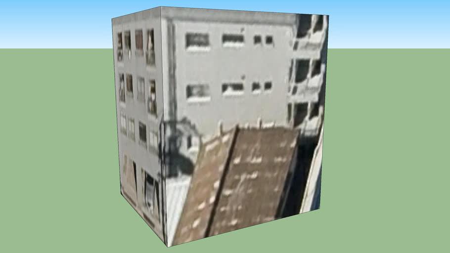 일본, 히로시마 현히로시마 시의 건물