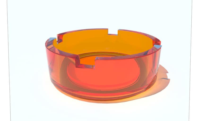 Ashtray-glass