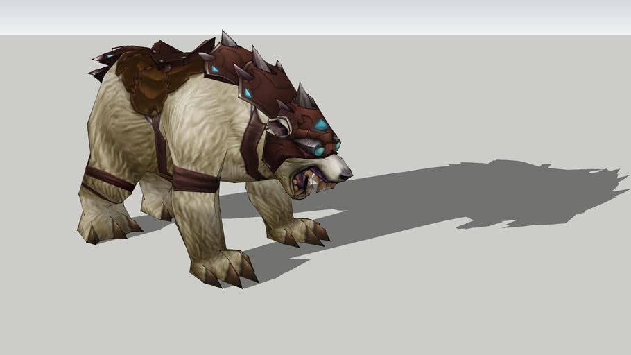 World of Warcraft - Icebear Mount