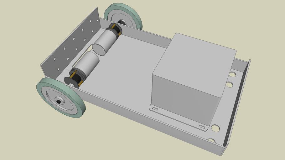 University of Glasgow - Electronics & Electrical Engineering 3rd Year Project: Robot Chassis