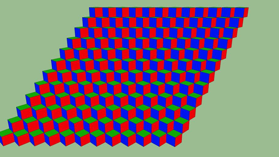 Cubes (Optical Illusion)