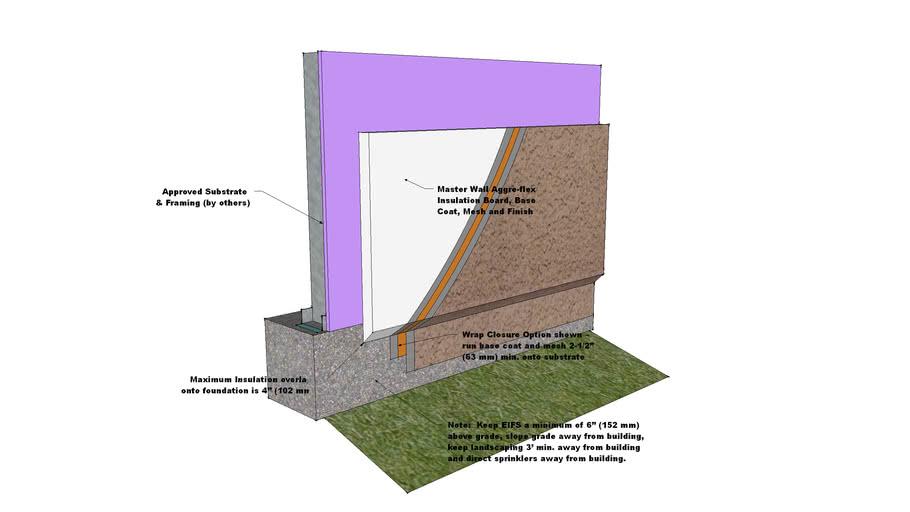 Aggre-flex Foundation Detail