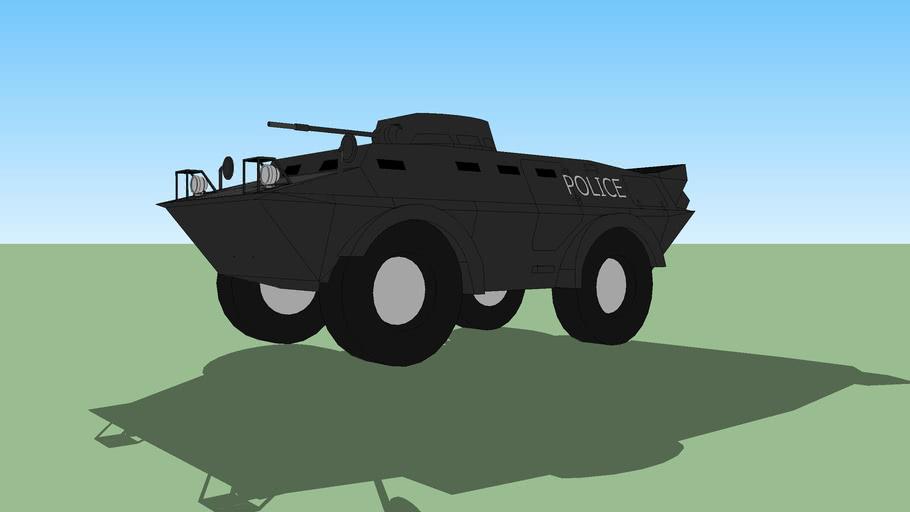 Cadillac Cage Commando V100 Police