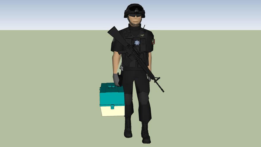 policia de transito para medico tactico