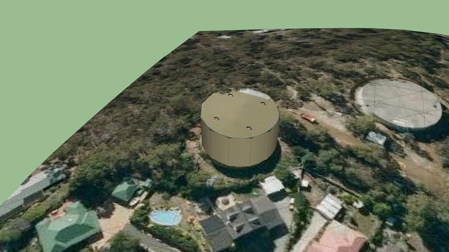 water tank 2 in boronia reserve, Tasmania