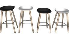 Bars and stools seating