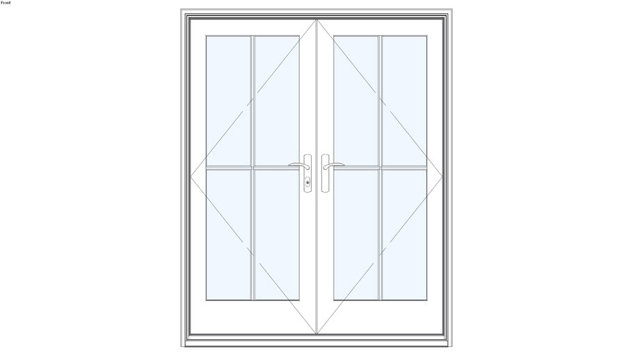 Ultra™ Series French Door In-Swing