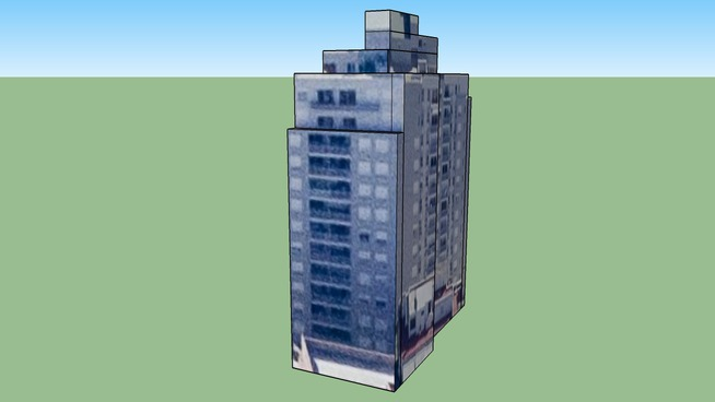 Byggnad på Buenos Aires, Capital Federal, Argentina