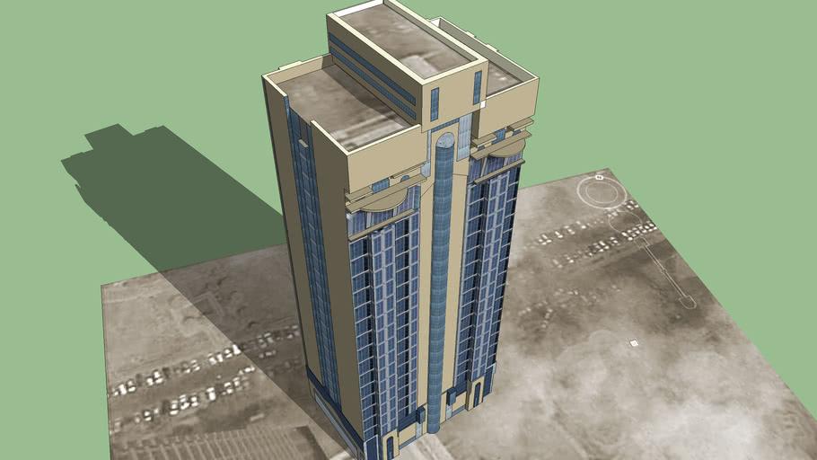 UAE Abu Dhabi ADFS Building