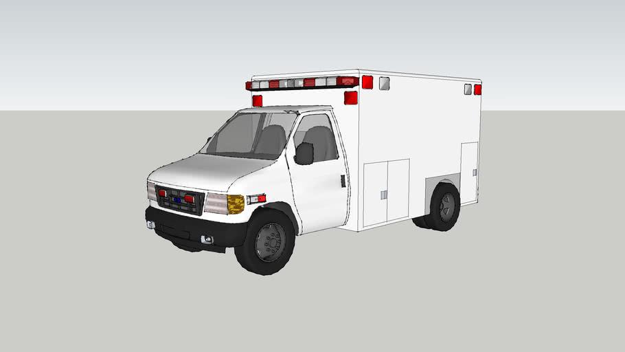 ambulance type lll ford f450 econoline model 2007