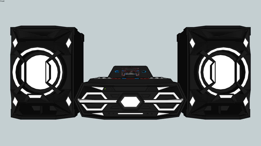 BST-SX1 Midi Hi-Fi Audio System (2017)