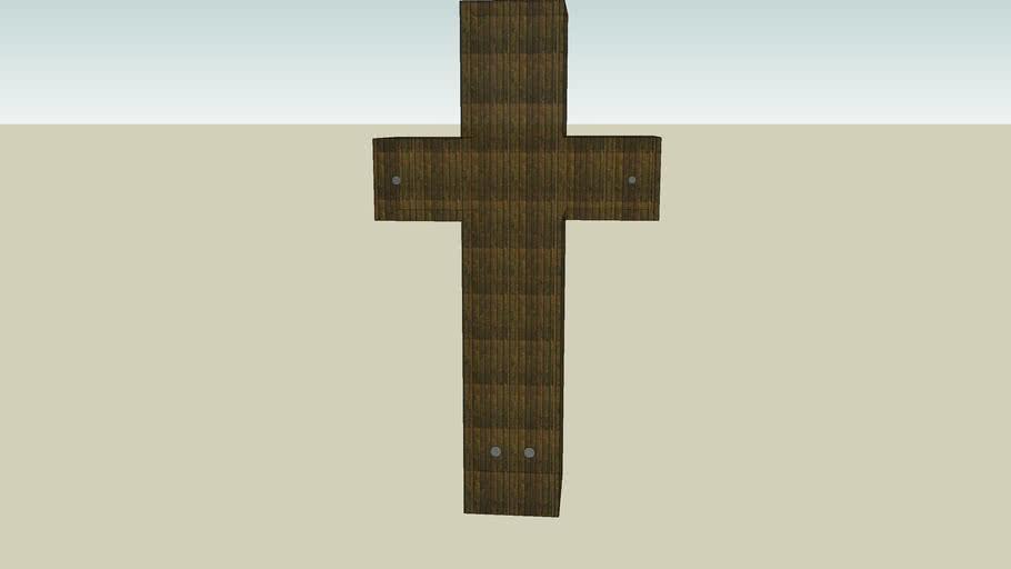 A brown cross
