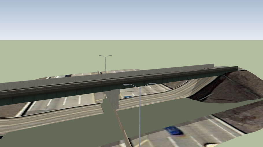 Atkinson Road Overpass- Interstate 94 Tri State Tollway