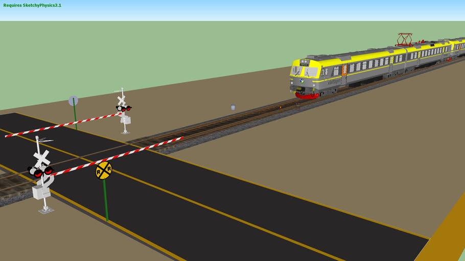 WORKING TRAIN - EMU VTX14