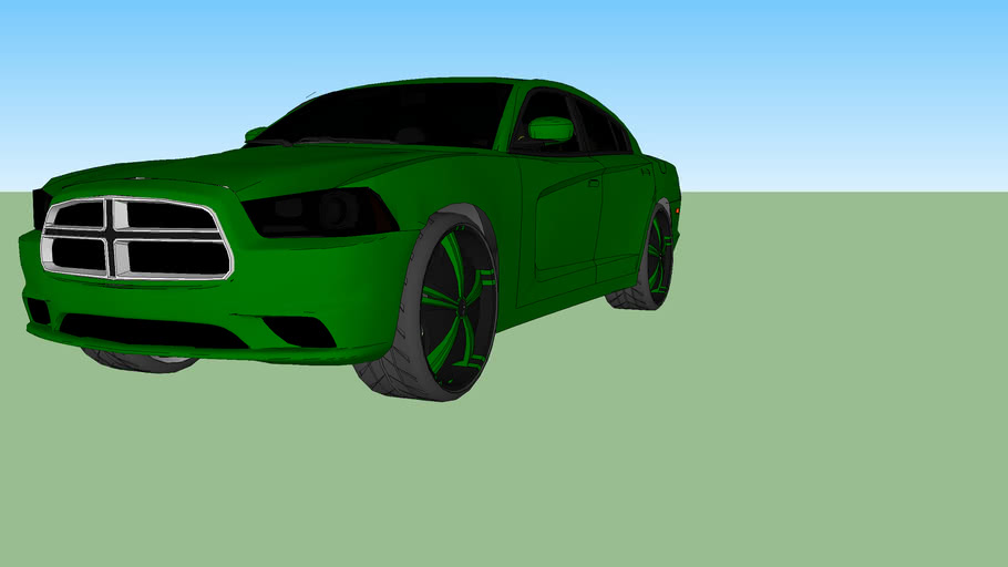 custom 2011 dodge charger r/t