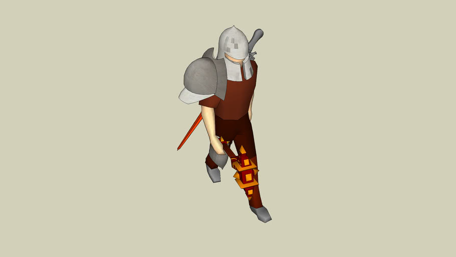 warrior/war lord. (spec thnx 2 a day old bagel)