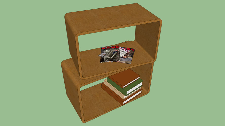81851 Attento Cube Rectangular 2/set