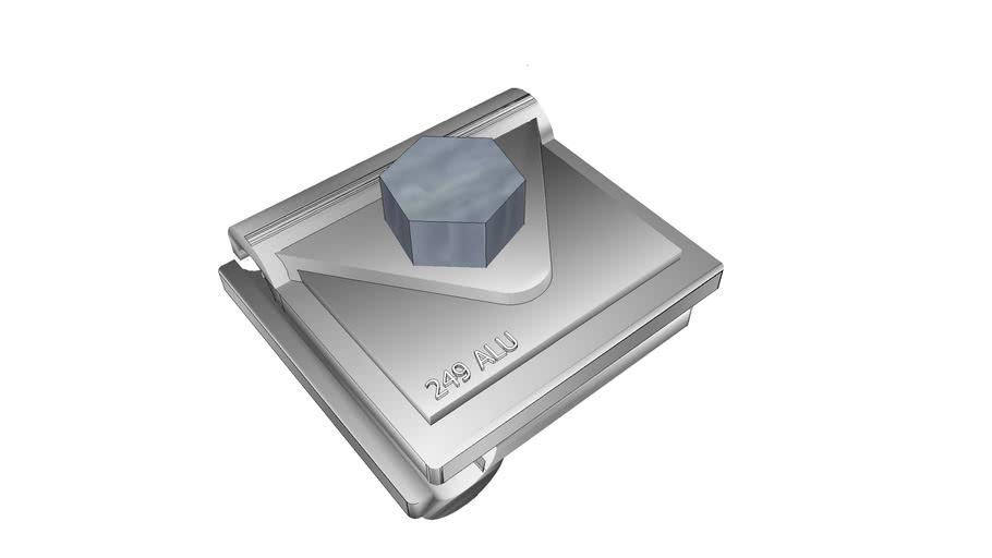 Conector Aluminio 249 ALU OBO