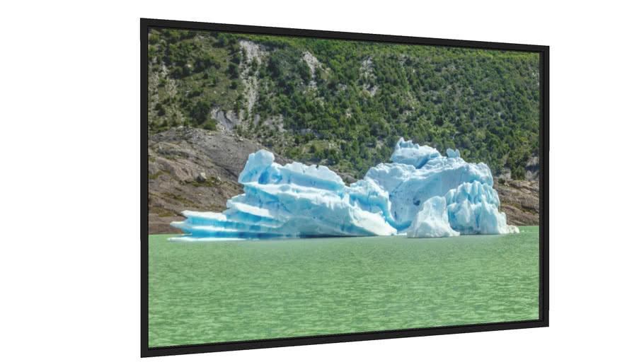 Quadro Pequeno edaço de Glaciar - Galeria9, por Lucas Mann