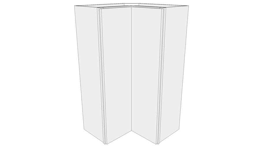 Glenwood Wall Cabinet SCW2442 - Square Corner Wall Cabinet