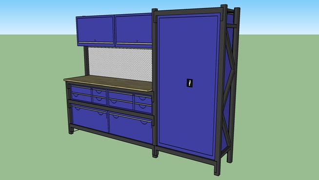 Steelspan Storage Systems - Module 10 with Overhead Cabinets