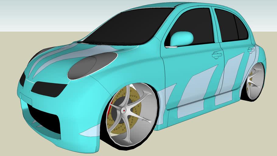 Tuned Nissan Micra