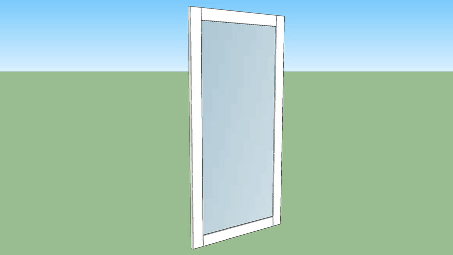 IKEA RIDABU mirror door 120x60