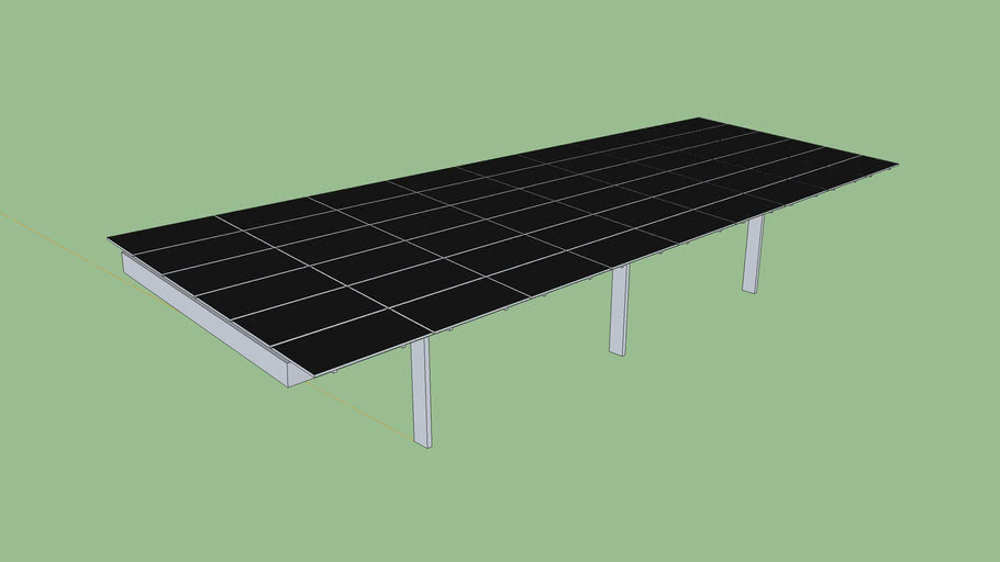 Pickett Solar Panel Carport