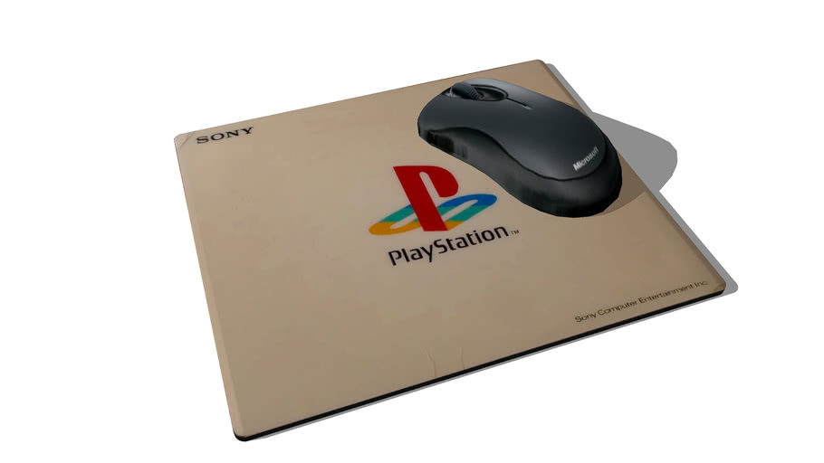 Tapis de Souris Playstation / Mouse Pad Playstation