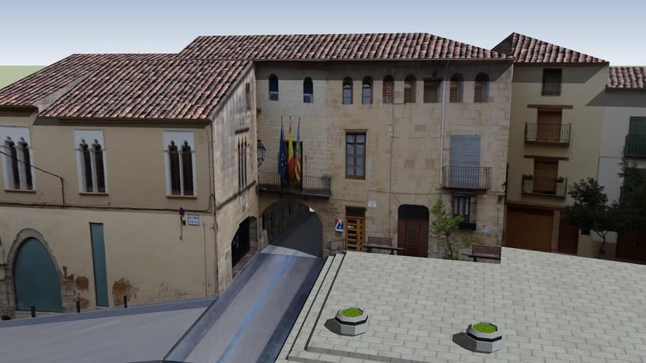 Ayuntamiento de Cabanes. Castellón. España.