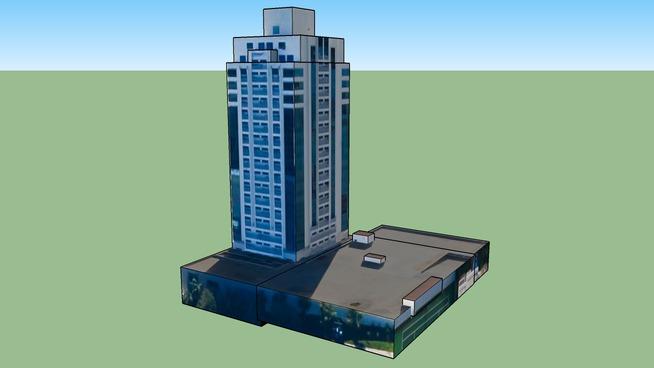 Construção em Porto Alegre - RS, República Federativa do Brasil