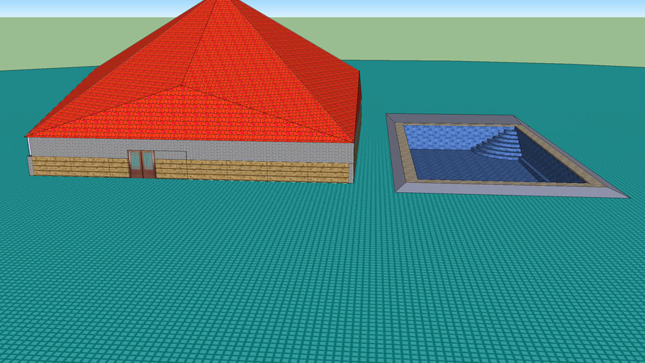 GEA2004 House and pool