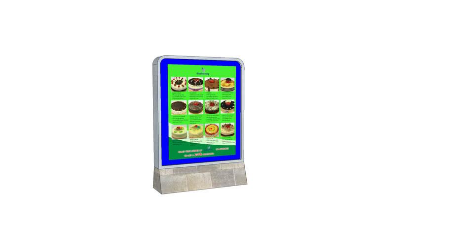 carsam menu display
