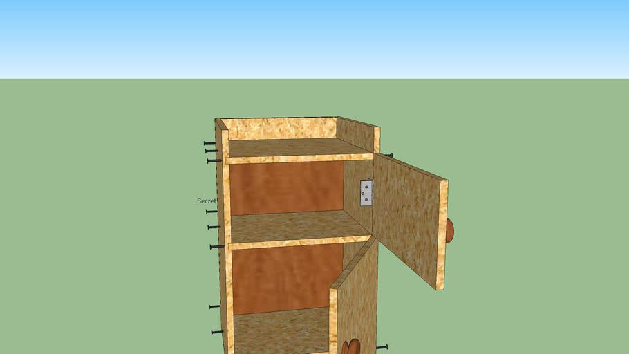 Secret Storage Cabinet