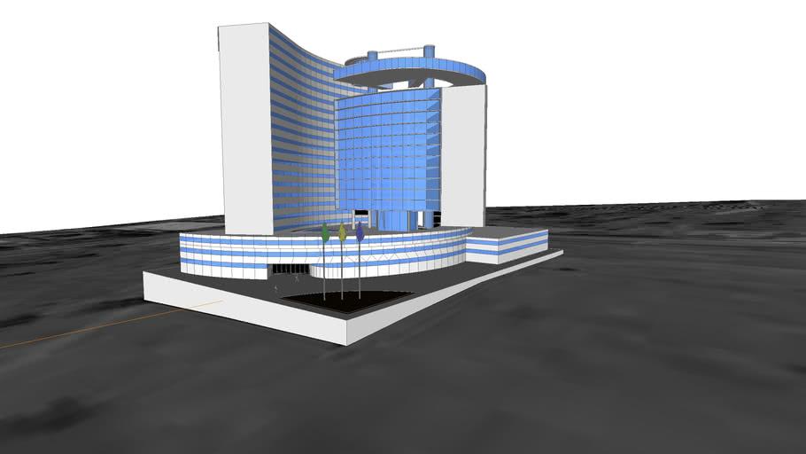 Estudo Volumétrico da nova sede do DPF