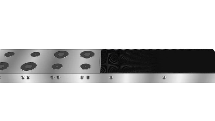 Industrial range and grill - 3DP
