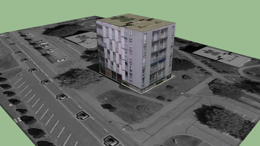 Bâtiment situé à Rouen