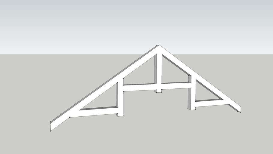 Peacock Webbed Truss