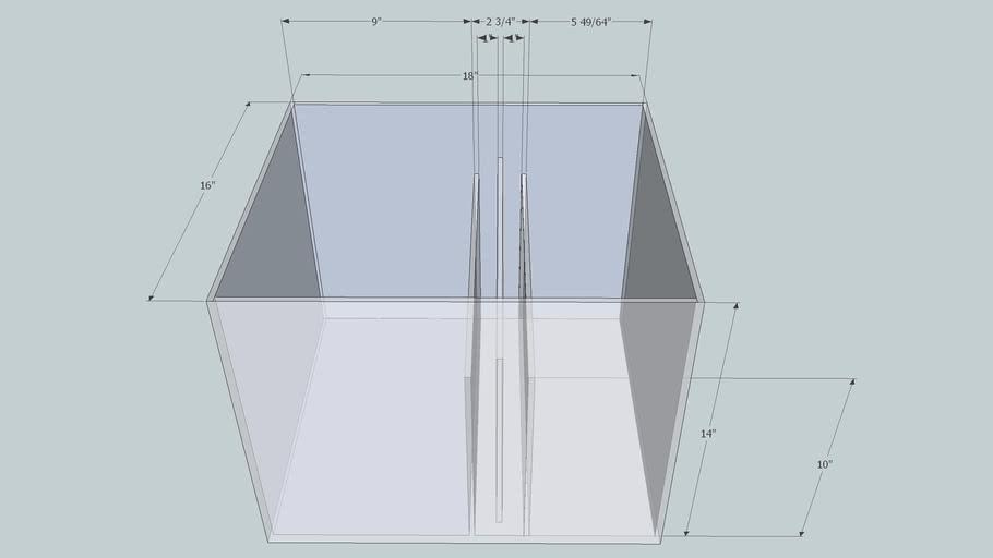 Sump for 33 gallon cube