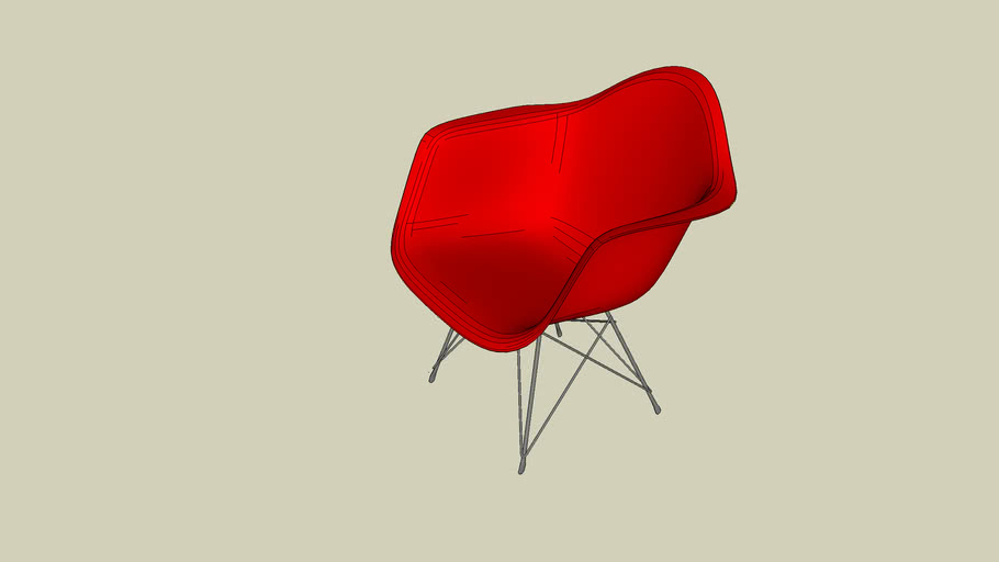 EAMES_ARMCHAIR_RED