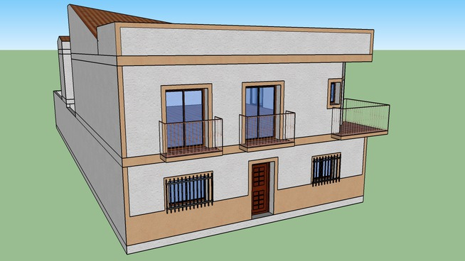 Edificio viviendas_Trv. Luisa Marín - Valverde de Leganés (Badajoz)